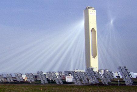 Ecomania blog grandes plantas solares t rmicas - Centrale solare a specchi piani ...