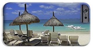 Buy iPhone case of Beach in Mauritius