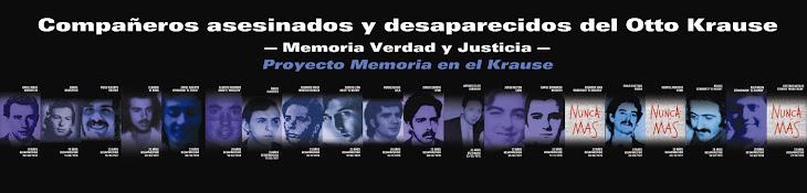Proyecto Memoria en el Krause
