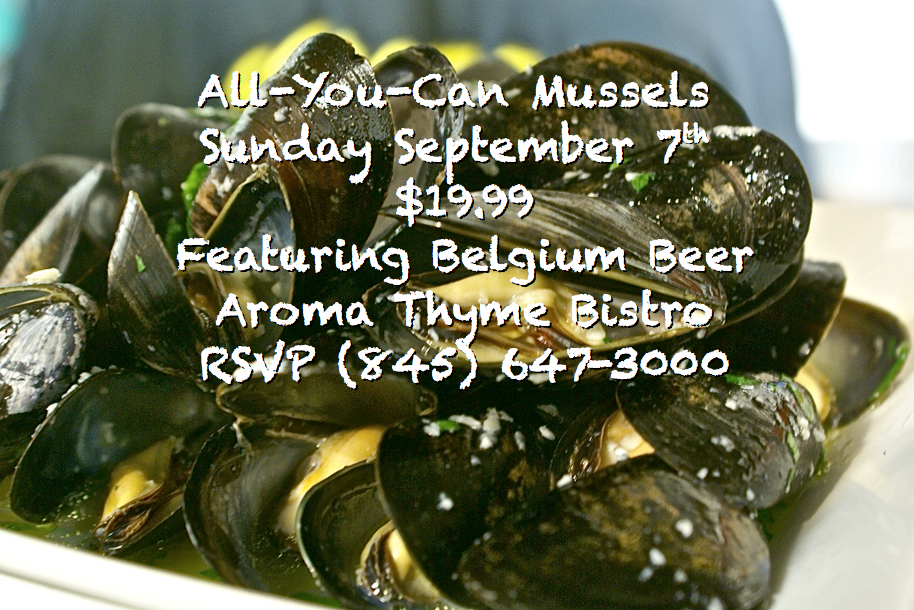 All you can Eat Mussels & Belgium Beer