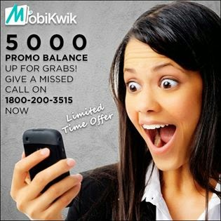 Mobikwik Offering 5000 Promo Balance to All Users