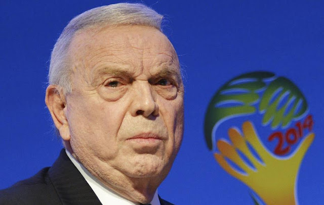 Sete dirigentes da Fifa estão presos na Suíça acusados de corrupção, incluindo Marin