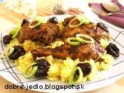 Kurča na marocký spôsob - recept