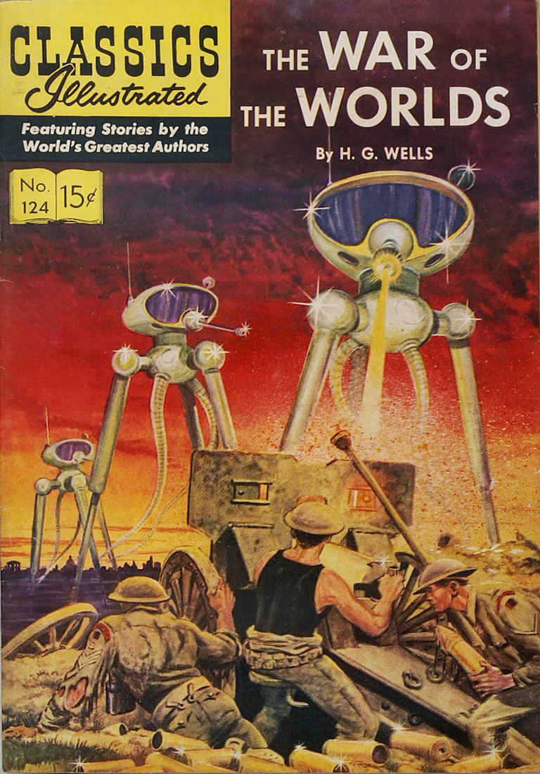 essays on the war of the worlds by hg wells In his novel the war of the worlds, whether it's scrutinizing the imperialist martians evolution, the enormous red weed that perished with its martian maestro.