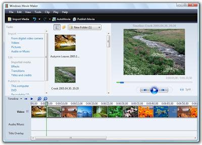 تحميل برنامج صانع الافلام ويندوز 7 الجديد download movie maker program free windows 7