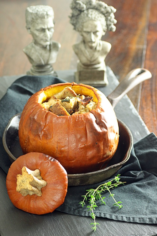 Pumpkin Stuffed with Everything Good: French Fridays with Dorie
