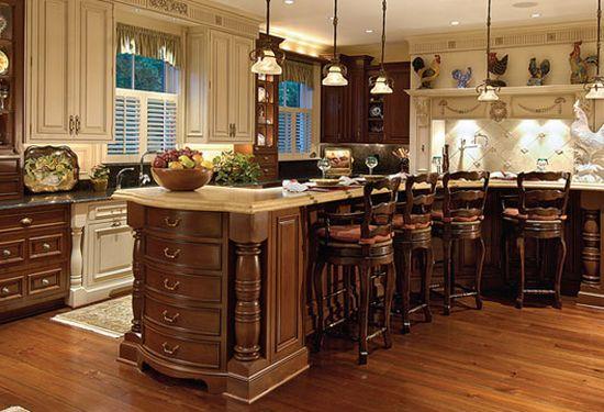 Wooden kitchen shelf rack