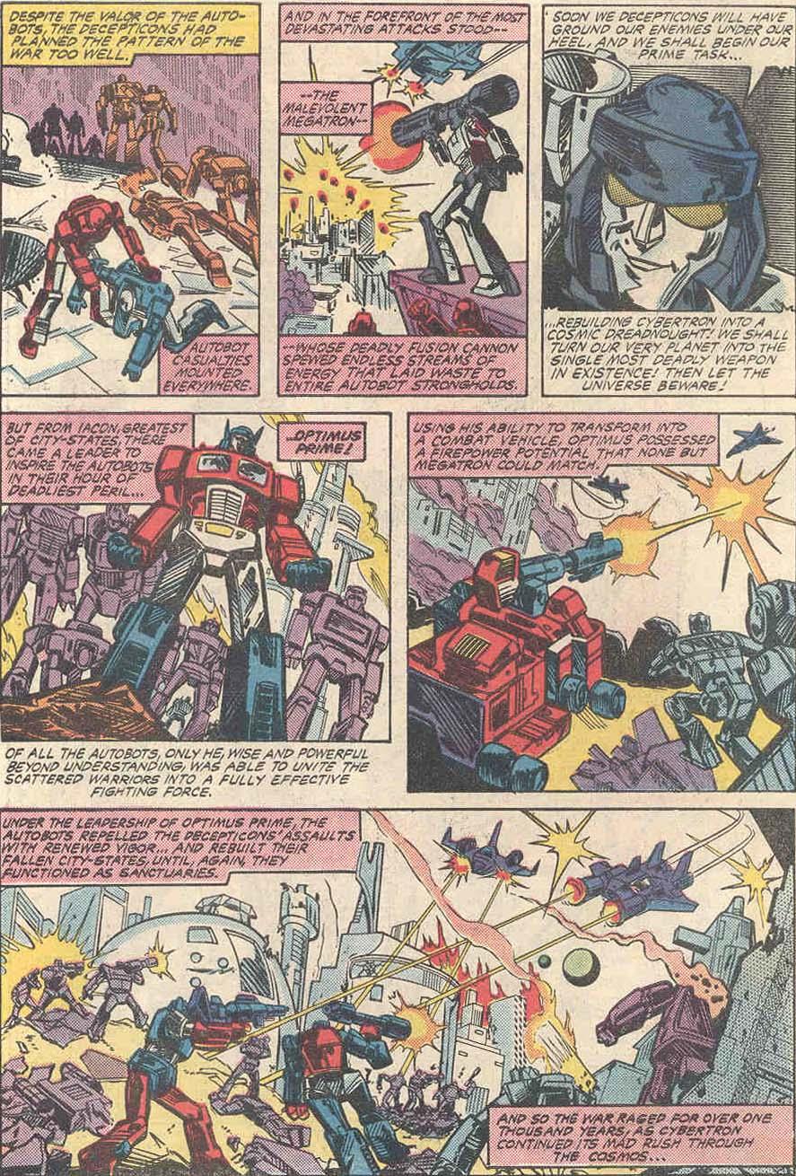 The Transformers (1984) #1 #80 - English 5