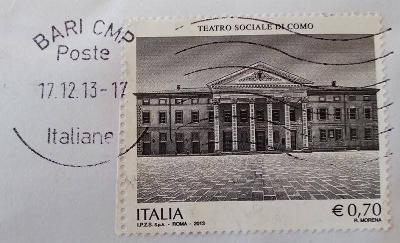 francobollo Teatro Sociale di Como