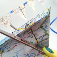 Make Bunting with Maps