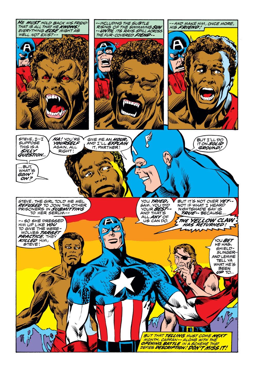Captain America (1968) Issue #164 #78 - English 21
