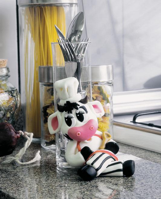 Como hacer una vaquita en cerámica en frío ~ solountip.com
