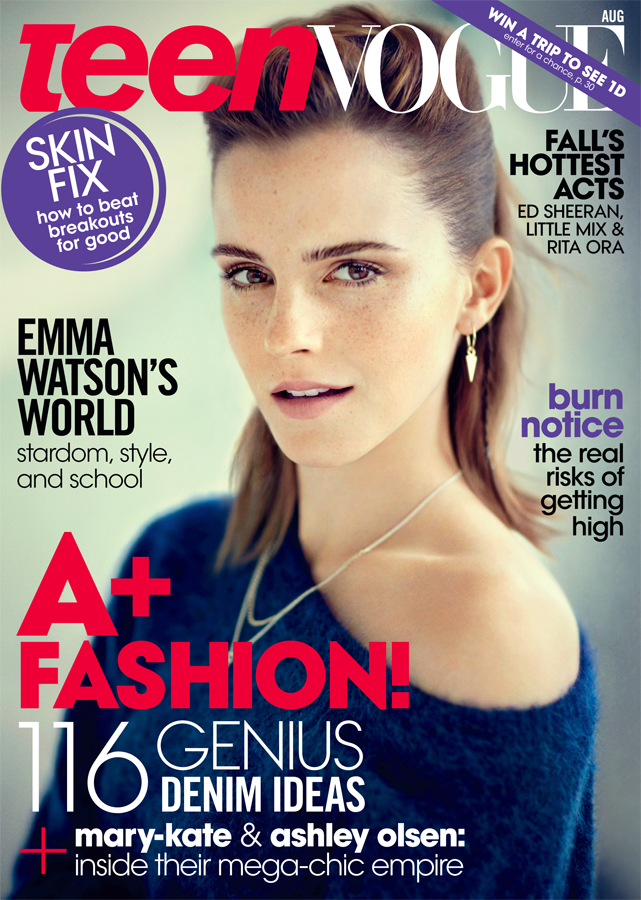 Emma watson in italian vogue covers normal wallpaper