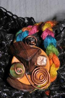 Sac bandoulière en ficelle agricole recyclée par Ama