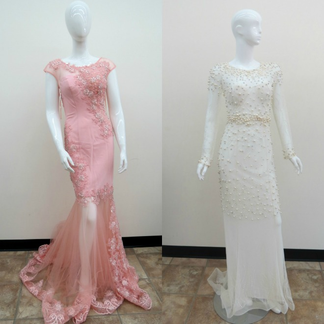 The Santee Alley: Now Open: Azzure Couture Special Occasion Dresses