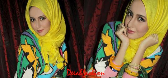 Trend Jilbab Elektrik YellowChic