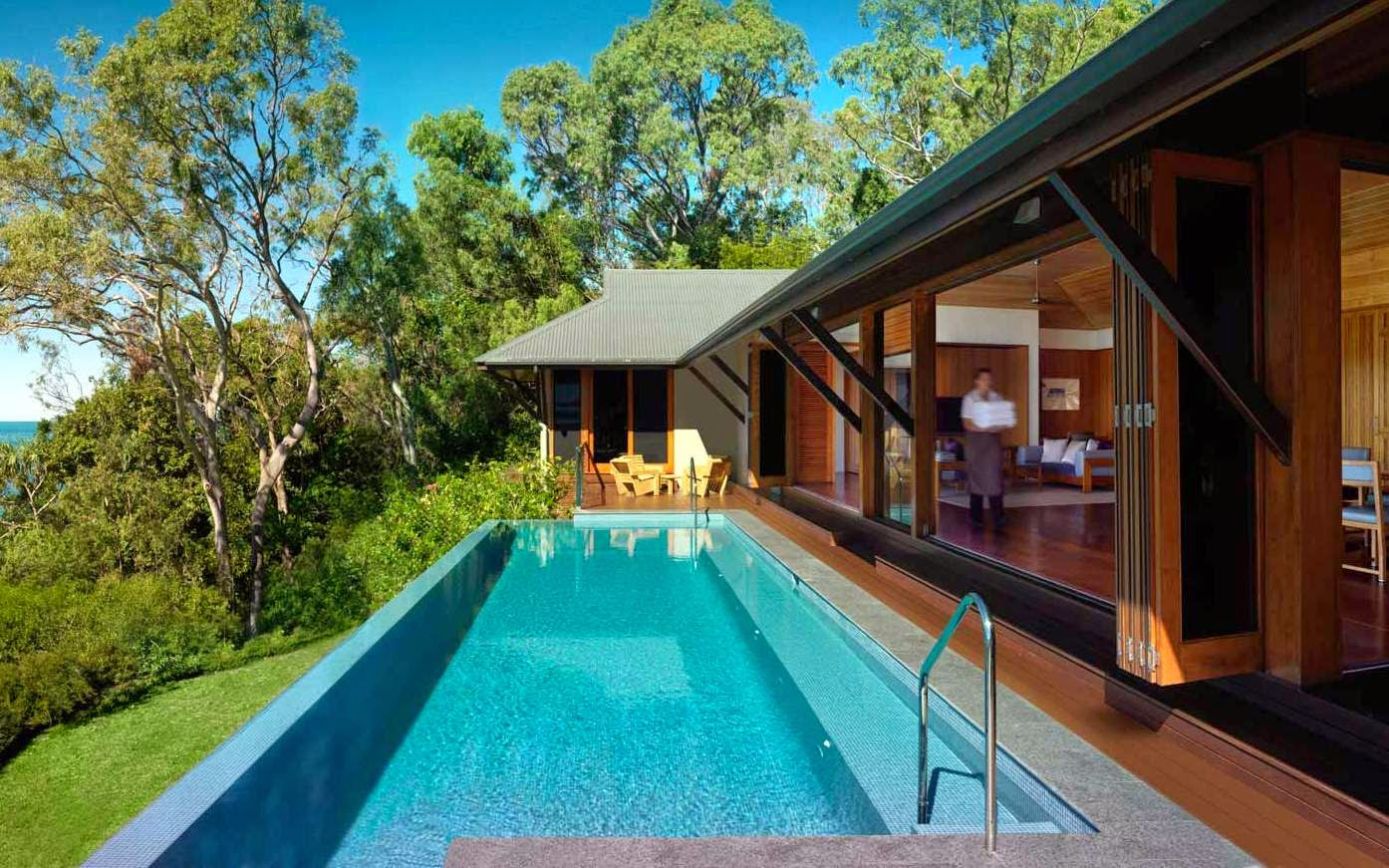 Pictures of Modern Pool House Designs