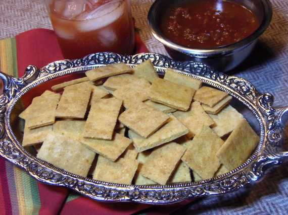 Corn Bread Crackers Recipe