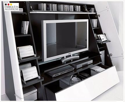 meuble tele atlas table de lit. Black Bedroom Furniture Sets. Home Design Ideas