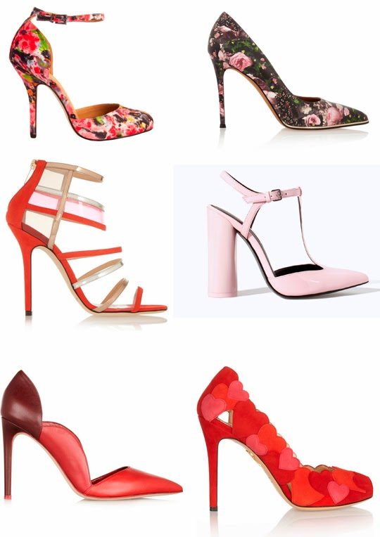 Zapatos San Valentín 2014