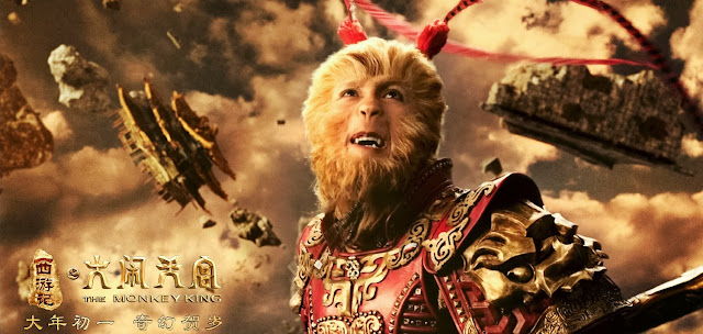 Donnie Yen as Sun Wukong in The Monkey King 2014 movie still poster
