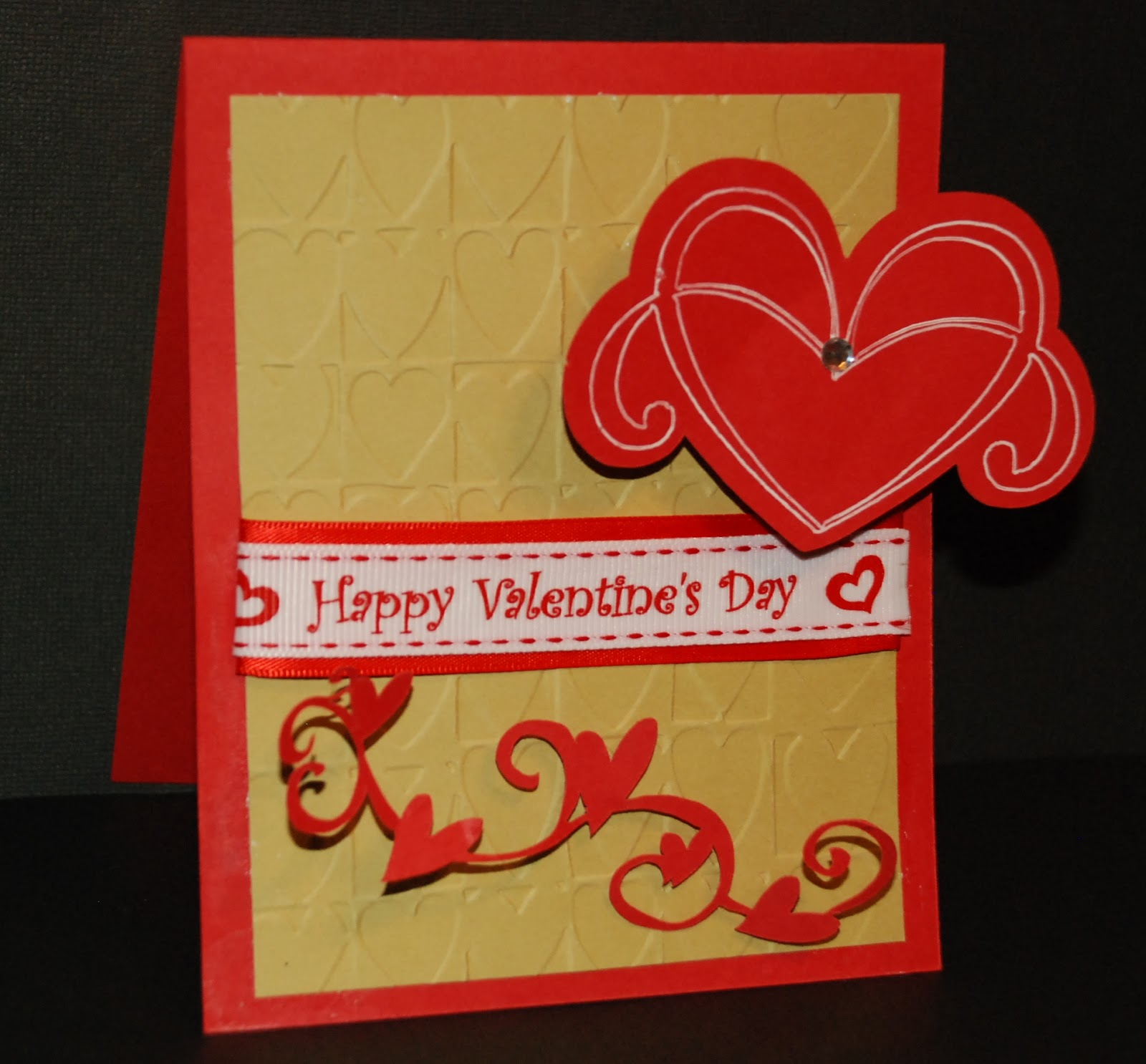 Creative cutting challenge challenge 8 valentine 39 s day card for Creative valentine day cards