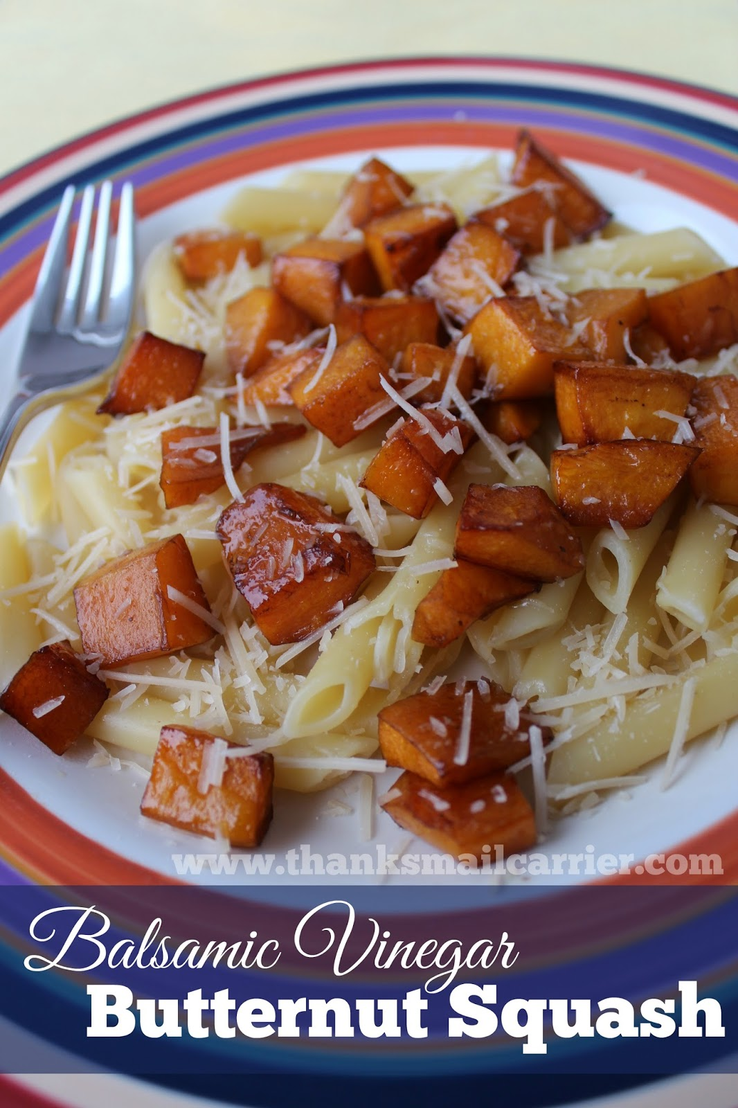 Balsamic Vinegar Butternut Squash
