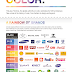 50 Year of Pantone: Color and Branding (infographic)