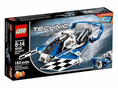 TOYS : JUGUETES - LEGO Technic  42045 Hidrodeslizador Deportivo | Hydroplane Racer  Producto Oficial 2016 | Piezas: 180 | Edad: 8-14 años  Comprar en Amazon España & buy Amazon USA