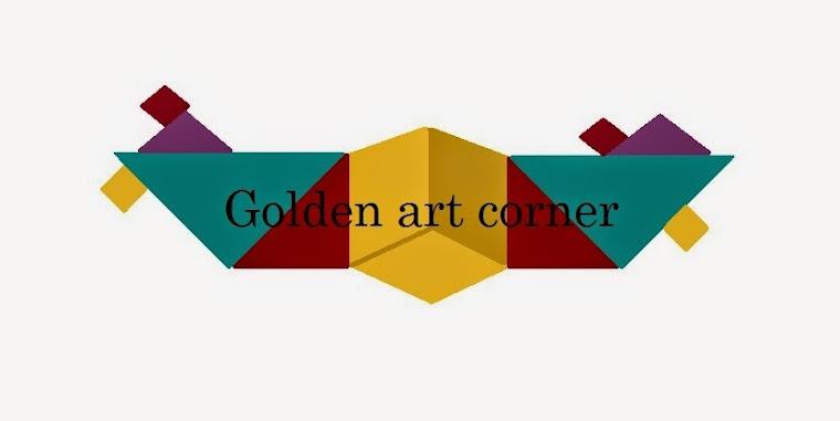 Golden art corner