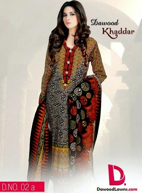 Dawood Khaddar Winter/ Fall Collection 2014