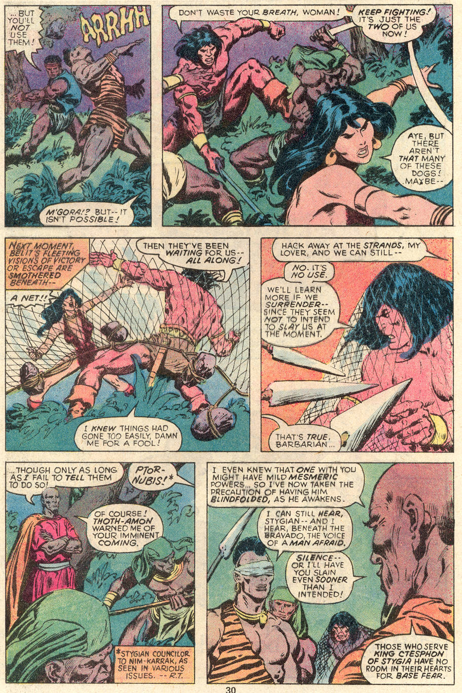 Conan the Barbarian (1970) Issue #91 #103 - English 17
