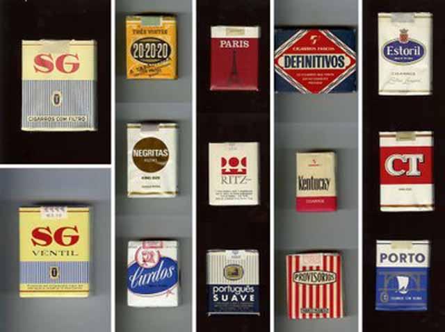 marcas de cigarro