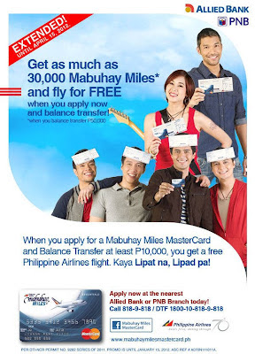 how to add mabuhay miles