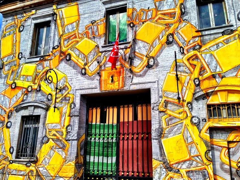 "NOVITA' Street Art, l'arte del ""graffito"", visita guidata, Roma"