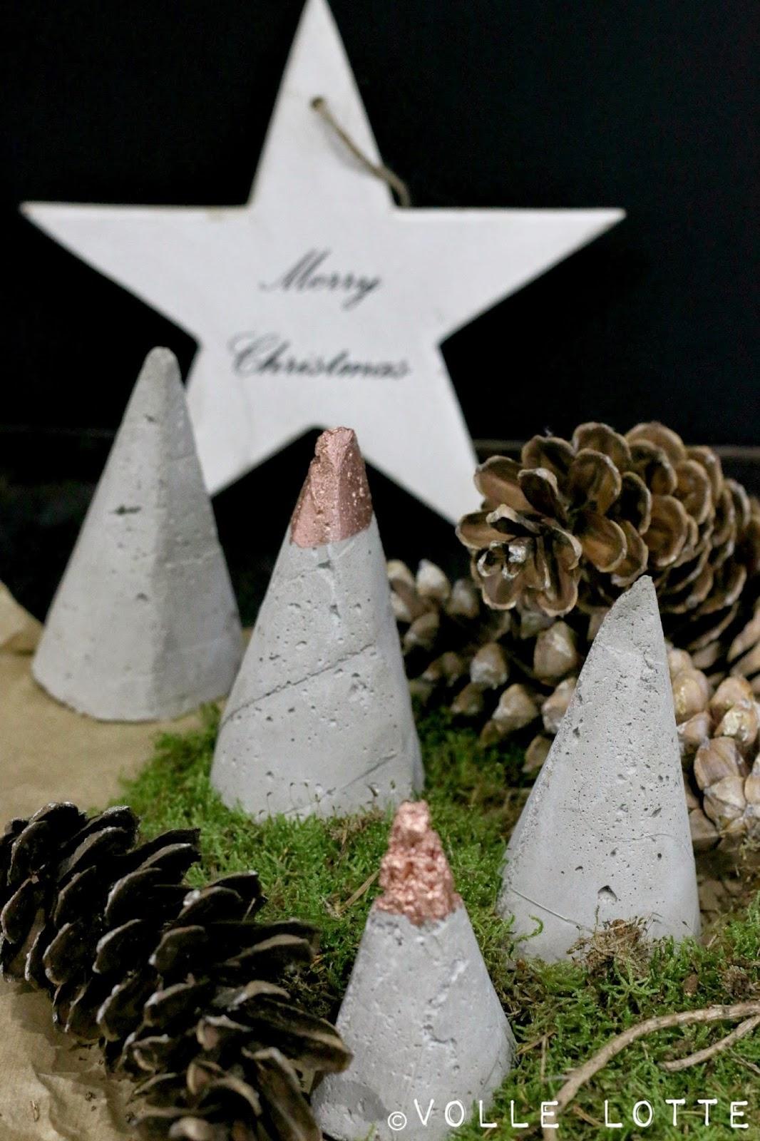 Weihnachten, XMAS, Kein Grün, Beton, Selbermachen, DIY