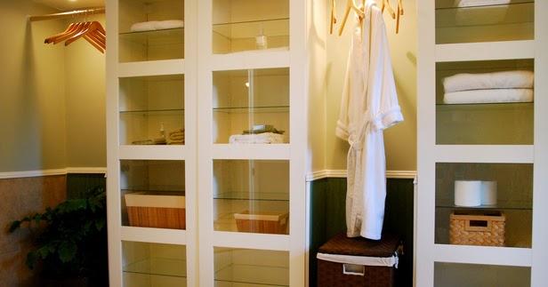 id es de rangement de salle de bains d cor de maison d coration chambre. Black Bedroom Furniture Sets. Home Design Ideas