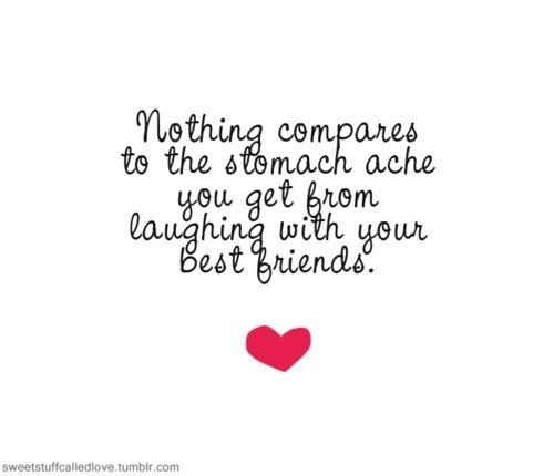 Quotes About Your Best Friend Laughing Photo