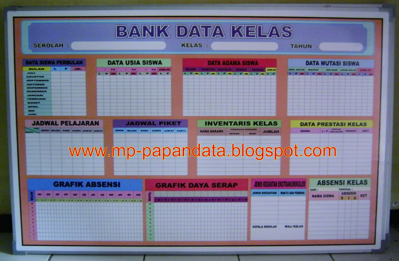 Papan Data Sekolah Papan Data Sekolah