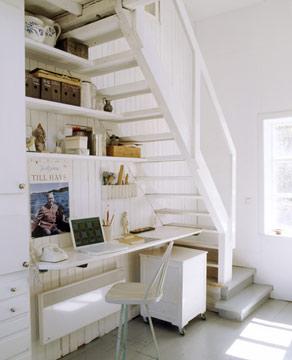 Decoraci n minimalista y contempor nea ideas para decorar for Bibliotecas debajo de escaleras