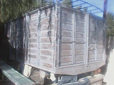 arenado de camiones