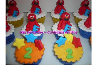 doce cupcake 3d decorado