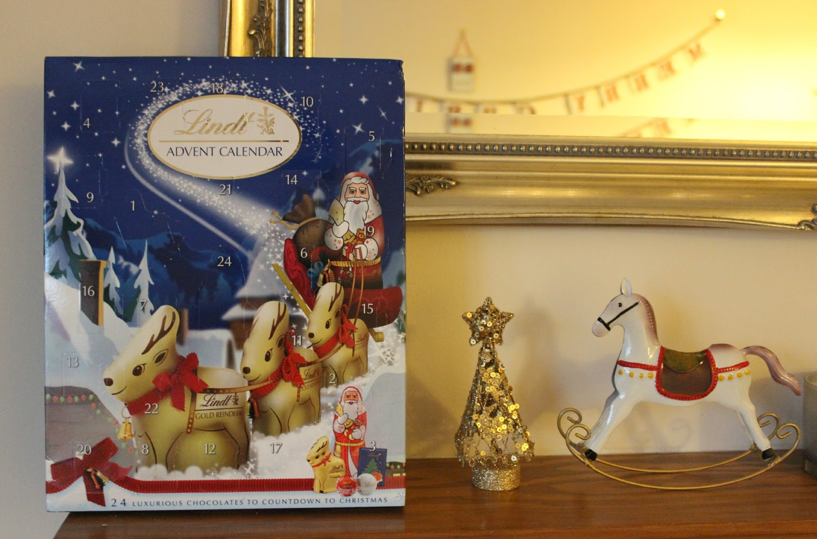 A picture of the Lindt Advent Calendar