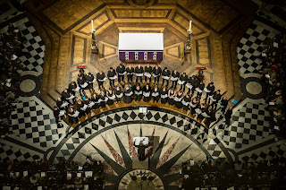 The Tallis Scholars 40th Anniversary Concert in St Paul's Cathedral, March 7th, 2013. photo (c) Clive Barda