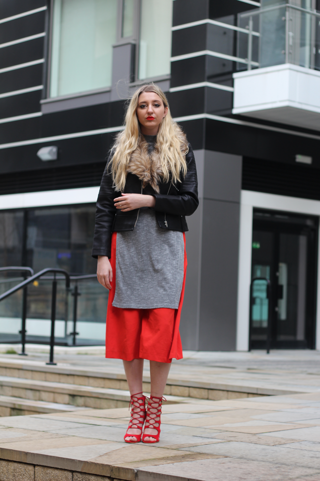 how to wear culottes fashion blog