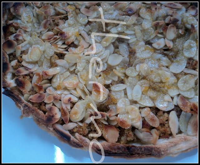 Tarta de naranja y almendras fileteadas receta casera