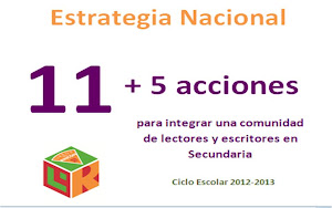 ESTRATEGIA 11+5 SECUNDARIA 2012-2013
