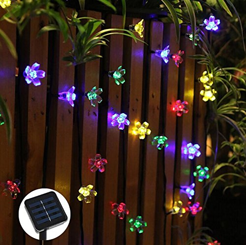 Solar String Lights Fairy Lights #SolarStringLights