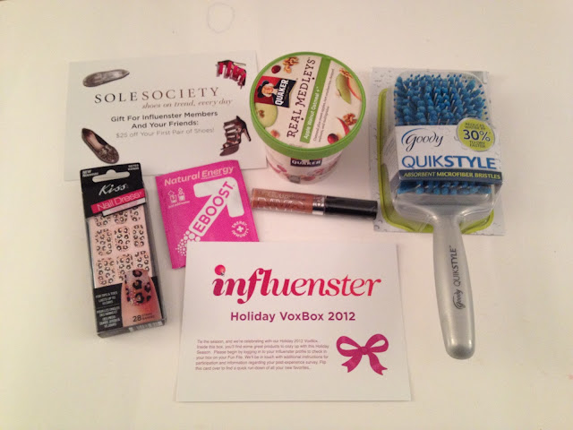 Influenster Holiday VoxBox 2012