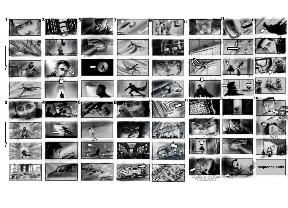 narrative illustration 2013: Examples of applied Storyboard Technique